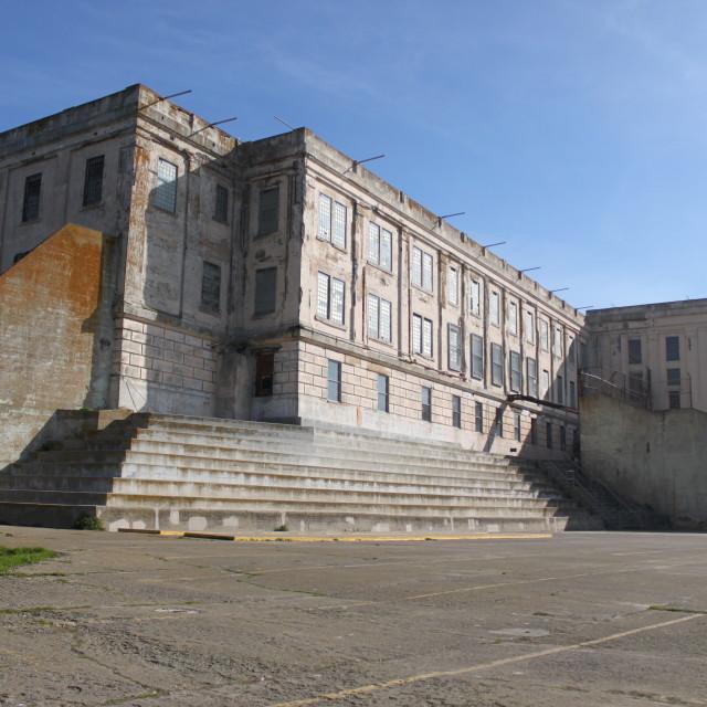 """Alcatraz cellhouse"" stock image"