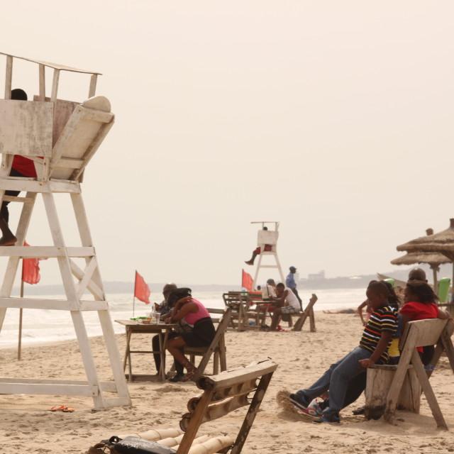"""""""Bojo Beach"""" stock image"""