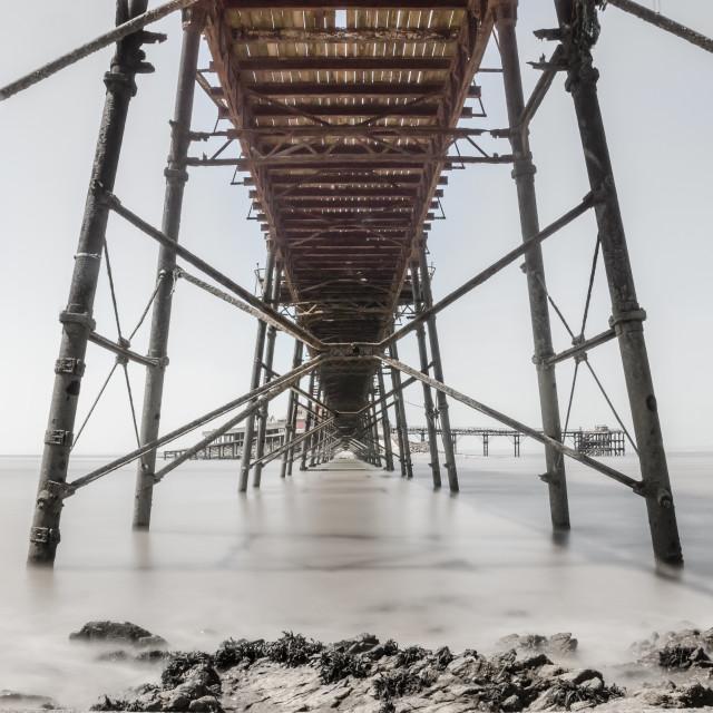 """Birnbeck Pier"" stock image"