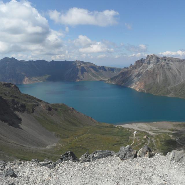 """""""Mt. Paekdu"""" stock image"""
