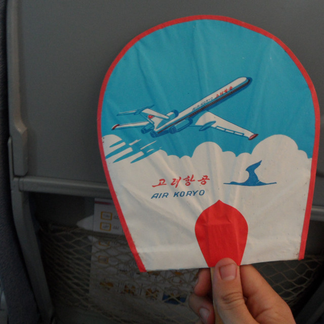 """Air Koryo, North Korea"" stock image"