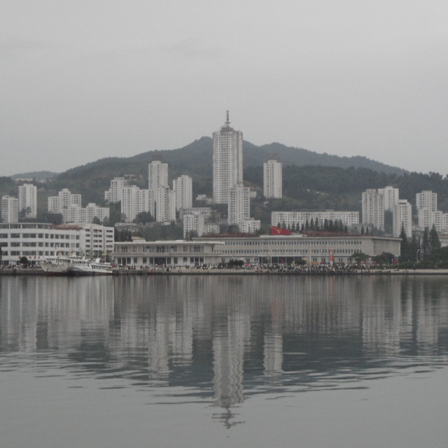 """Wonsan, North Korea"" stock image"