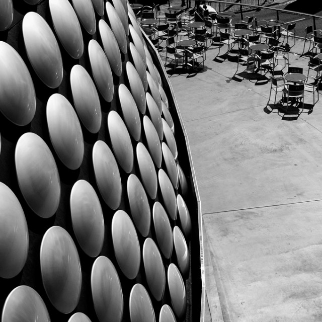 """Selfridges Button Building& cafe"" stock image"