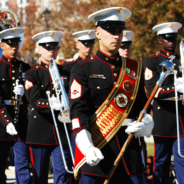 """Marine Corps Band"" stock image"