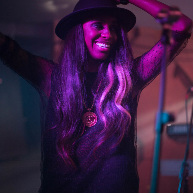 """Angel Haze at Birthdays"" stock image"