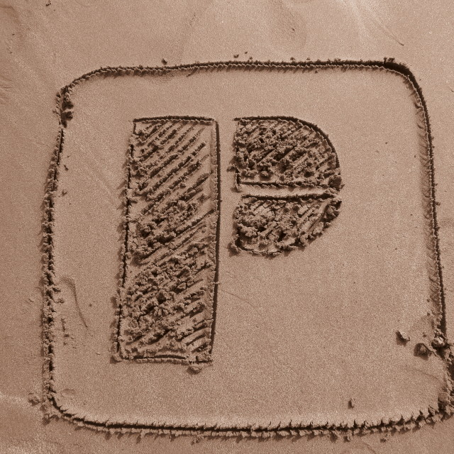 """Picfair logo beach"" stock image"
