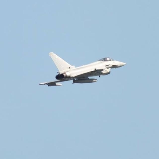"""Military Jet"" stock image"