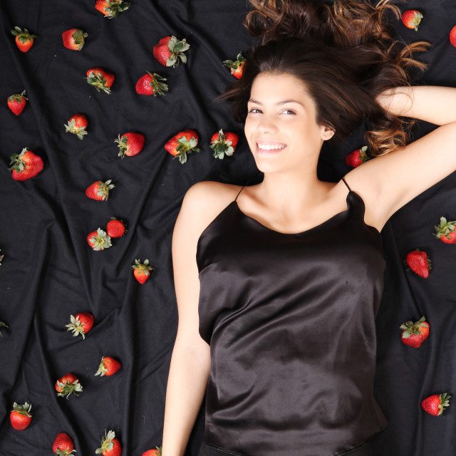 """Strawberry Dreams"" stock image"