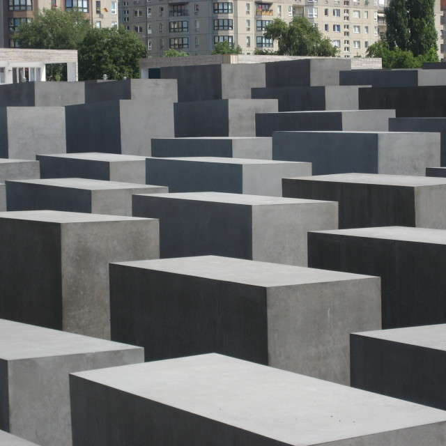 """Jewish Memorial in Berlin"" stock image"