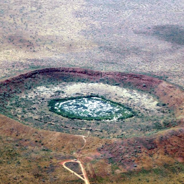 """""""Wolf Creek Crater"""" stock image"""