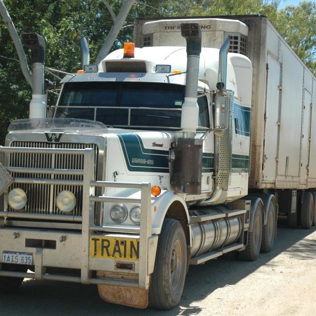 """Road Train"" stock image"