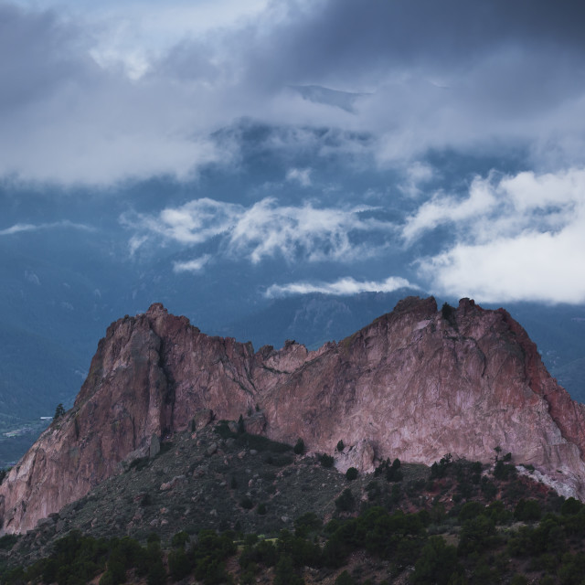 """Garden of the Gods"" stock image"