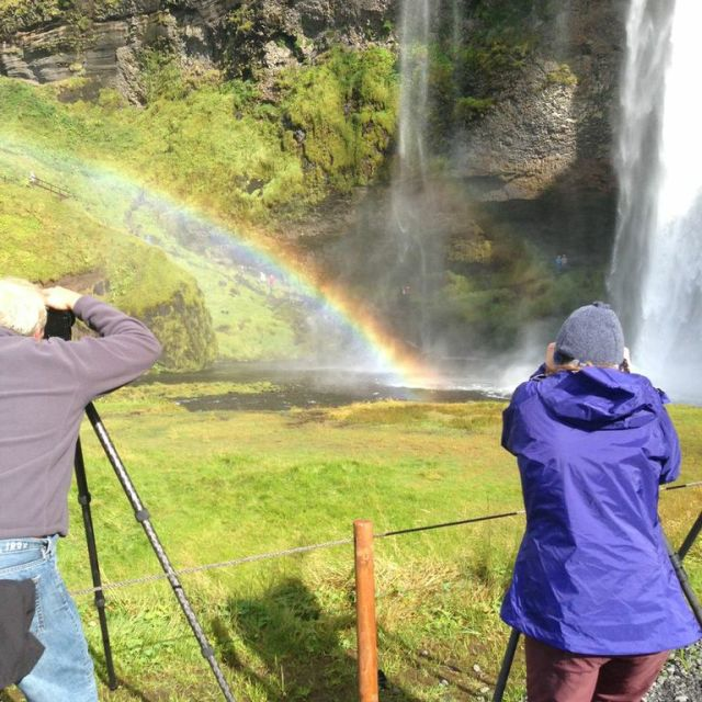 """""""That Rainbow's Right There"""" stock image"""