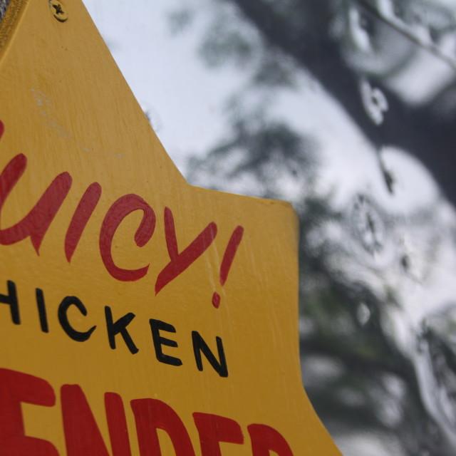 """""""Juicy chicken"""" stock image"""