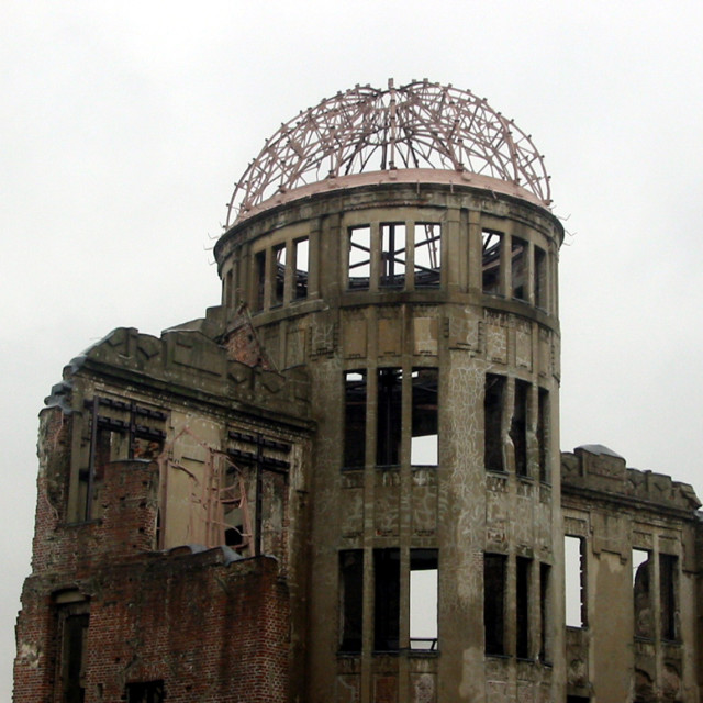 """Atomic Bomb dome"" stock image"
