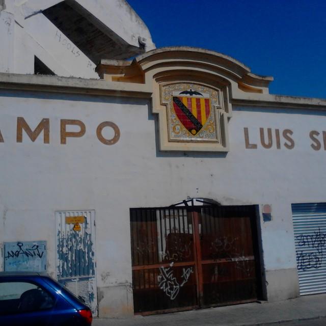 """Campo Luis Sitjar (Mallorca)"" stock image"