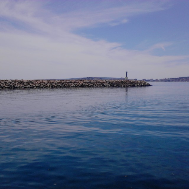 """Ocean blue..."" stock image"