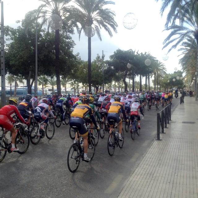"""Cycling - Mallorca Challenge"" stock image"