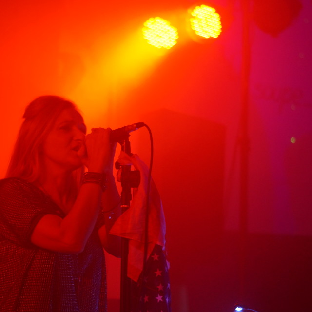 """American Woman rock band on Tour"" stock image"