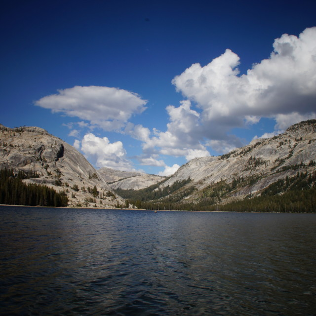 """Lake in Yosemite"" stock image"