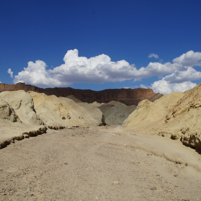 """Golden Canyon, Death Valley"" stock image"