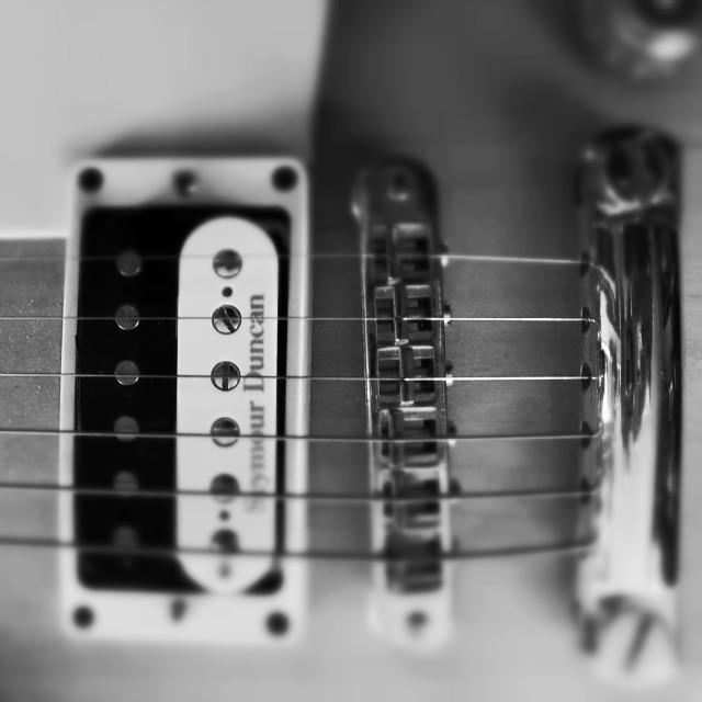 """Gibson Guitar"" stock image"
