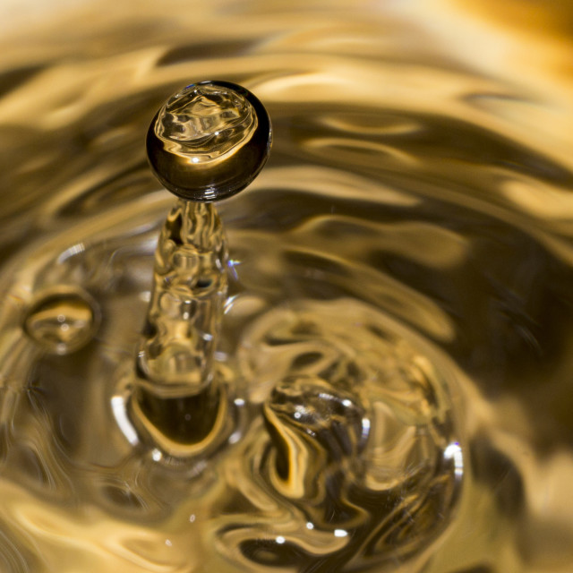 """Droplet 7"" stock image"