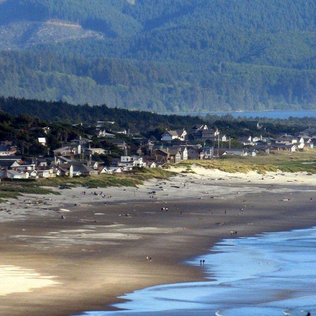 """""""West Coast Oregon"""" stock image"""