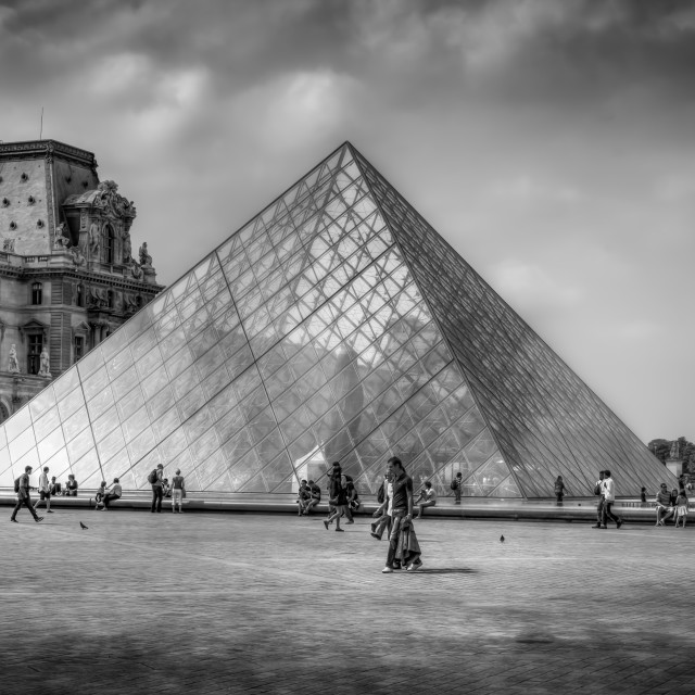 """The Louvre"" stock image"