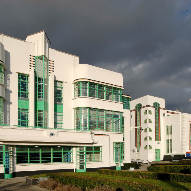 """Hoover Building"" stock image"