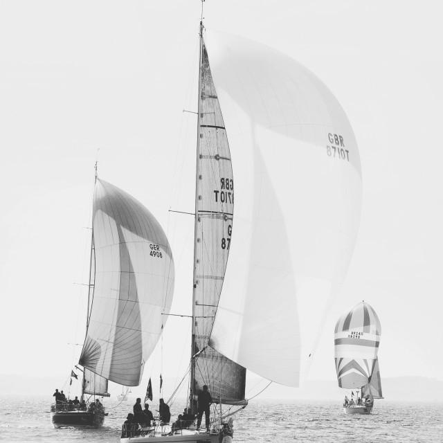 """""""Sailing ships"""" stock image"""