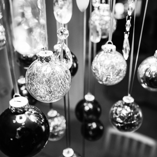 """Christmas Baubles"" stock image"