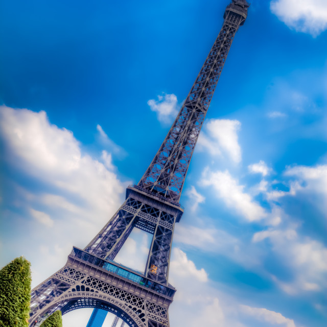 """""""The Leaning Eiffel Tower"""" stock image"""
