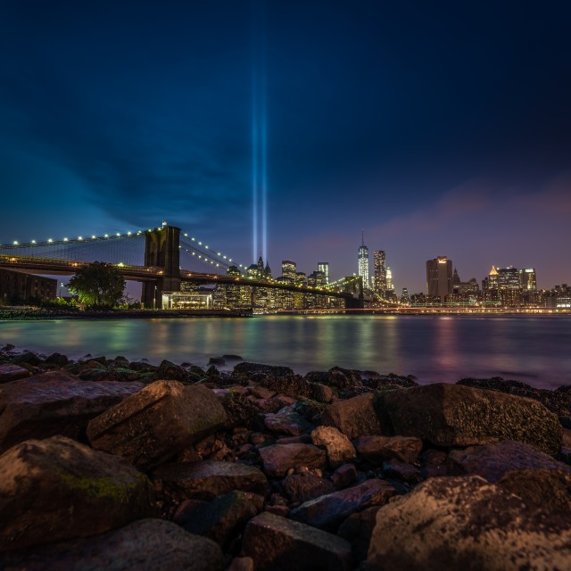 """Tribute in Lights"" stock image"