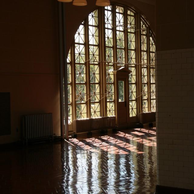 """Ellis Island 4"" stock image"