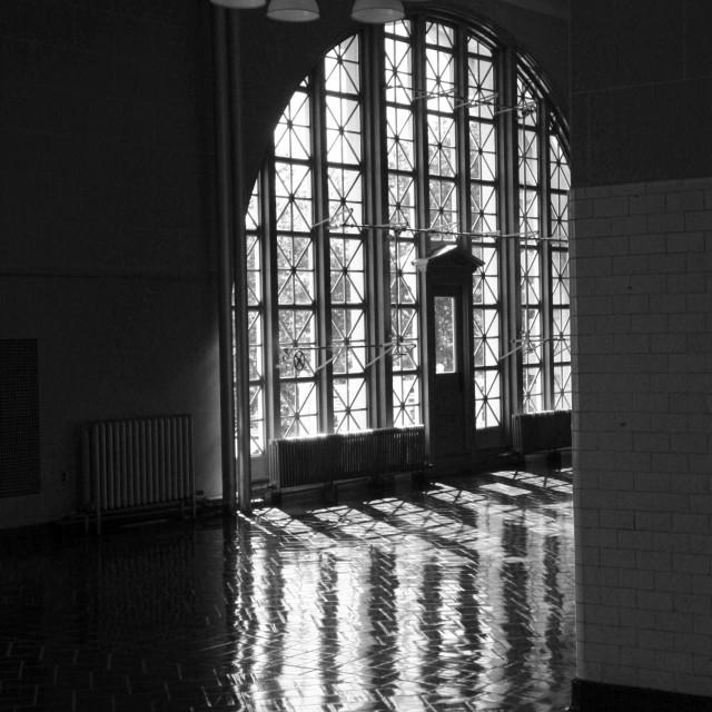 """Ellis Island 5"" stock image"