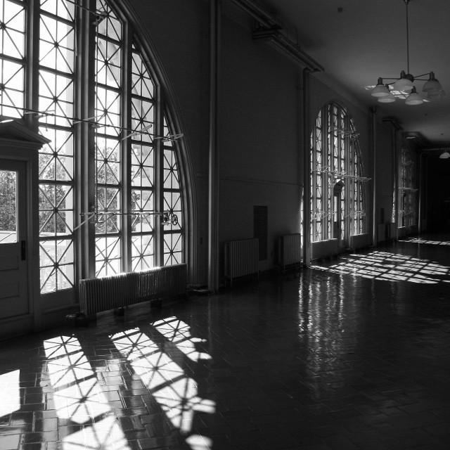 """Ellis Island 8"" stock image"