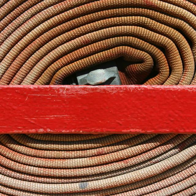 """Fire hose"" stock image"