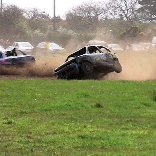 """""""Banger Racing"""" stock image"""