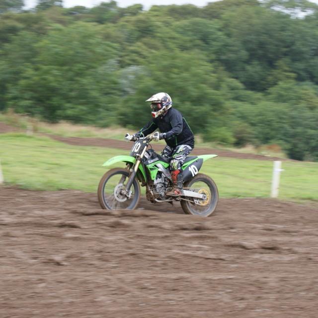 """Motocross"" stock image"