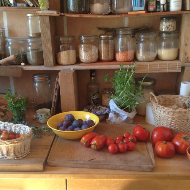 """French Kitchen"" stock image"