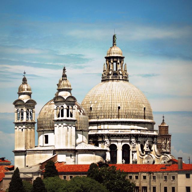 """Venice skyline"" stock image"