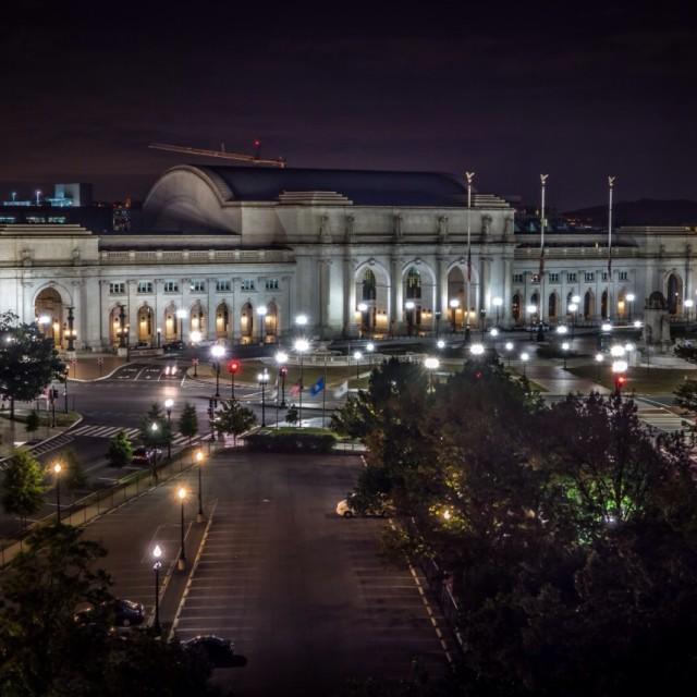 """""""Union Station Washingtin dc"""" stock image"""