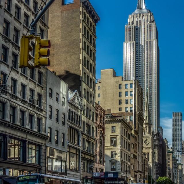 """New York City Streets"" stock image"