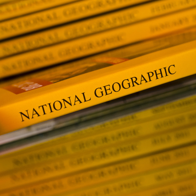 """""""National Geographic"""" stock image"""
