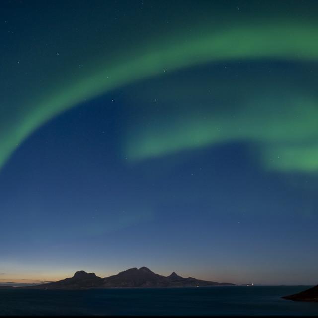 """""""Aurora Borealis2"""" stock image"""