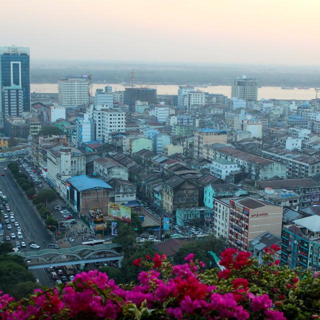 """Yangon"" stock image"