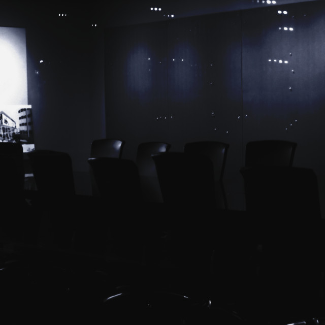 """The Board Room"" stock image"