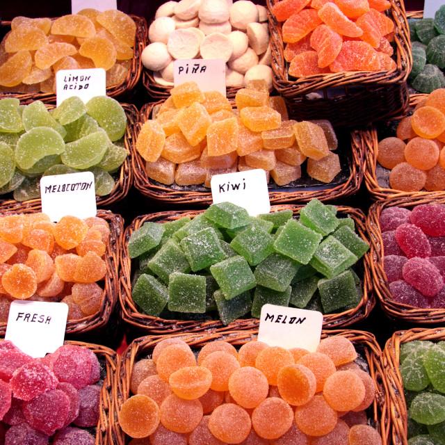 """Fruity Jellies"" stock image"