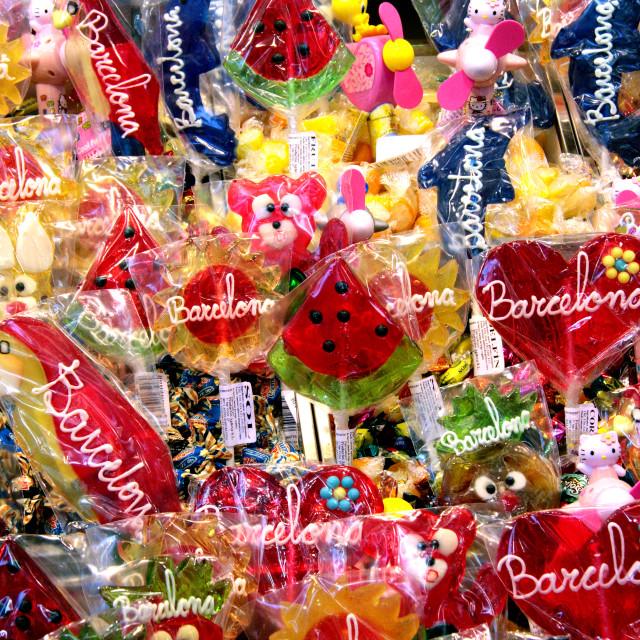 """""""Sweet Barcelona"""" stock image"""